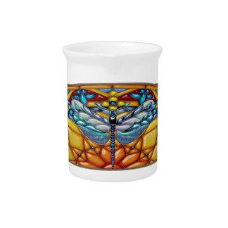 Dragonfly Daydream - Porcelain Pitcher