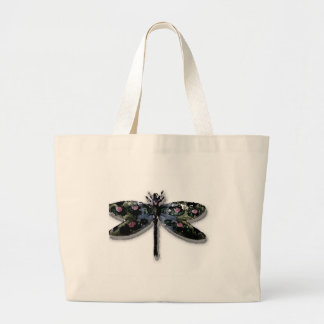 Dragonfly Design Tote Bags