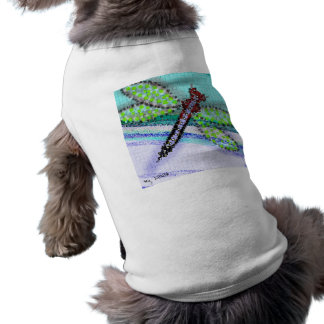 dragonfly dog tee