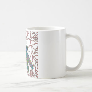 Dragonfly Doodle Classic White Coffee Mug