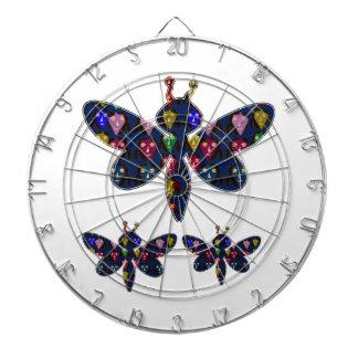 DRAGONFLY dragon fly insect dot navinJOSHI NVN89 Dartboard