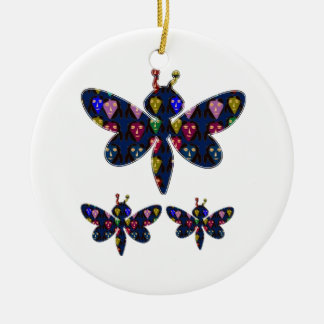 DRAGONFLY dragon fly insect dot navinJOSHI NVN89 Christmas Ornament