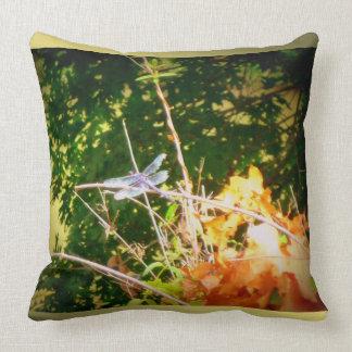 Dragonfly Dream Away Throw Pillow