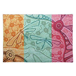 Dragonfly Dreaming Napkins Cloth Placemat