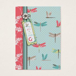 Dragonfly Dreams Girl Gift Tag