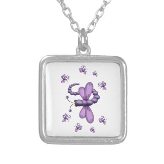 Dragonfly Dreams Silver Plated Necklace