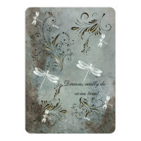 Dragonfly Dreams Wedding Invitation