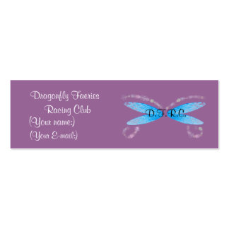 Dragonfly Faeries Profile Card Business Cards