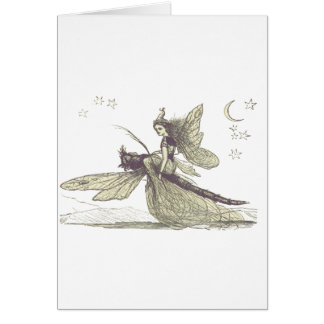 Dragonfly Fairy Card
