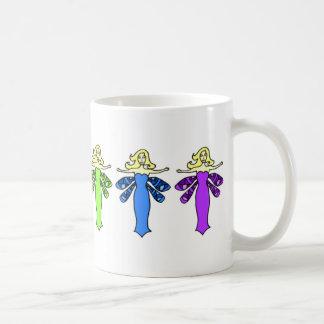 Dragonfly Fairy Rainbow Colors Mug