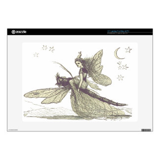 """Dragonfly Fairy Decals For 15"""" Laptops"""