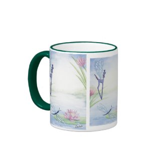 Dragonfly Fantasy Horse Mug