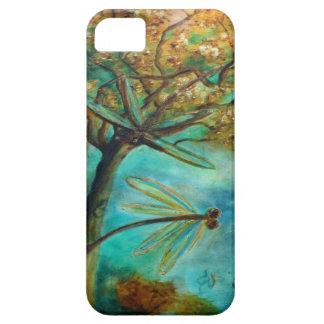 Dragonfly Flirtation iPhone SE/5/5s Case