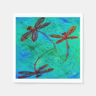 Dragonfly Flit Napkin