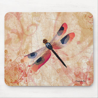 Dragonfly Flourish Mousepad