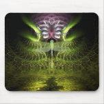 Dragonfly Fractal Magic Mousepad