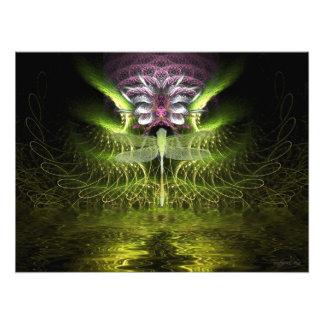 Dragonfly Fractal Magic Photo