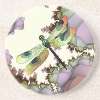 Dragonfly Fractals Coaster