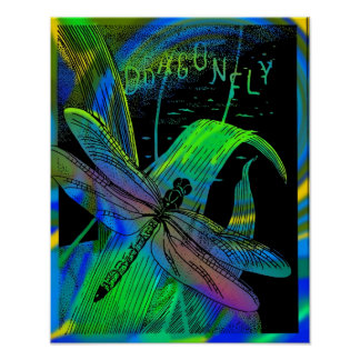 Dragonfly Framed Poster