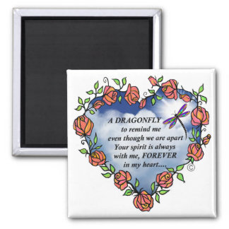 Dragonfly From Heaven Magnet