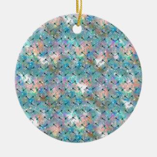 Dragonfly Galaxy Ceramic Ornament