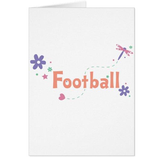 Dragonfly Garden Football Card