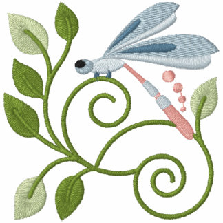 Dragonfly Garden Hoodie