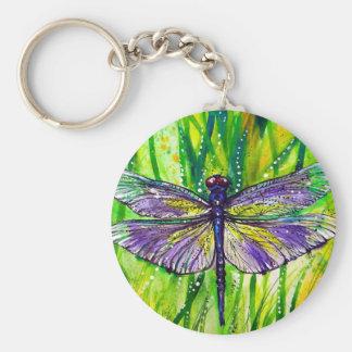 Dragonfly Garden Keychains