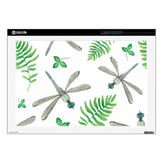 Dragonfly Garden Laptop Skins