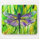 Dragonfly Garden Mousepad