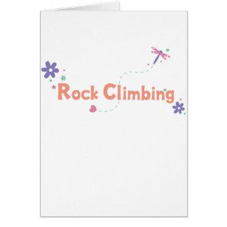 DragonFly Garden Rock Climbing Greeting Cards