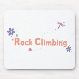DragonFly Garden Rock Climbing Mouse Pad