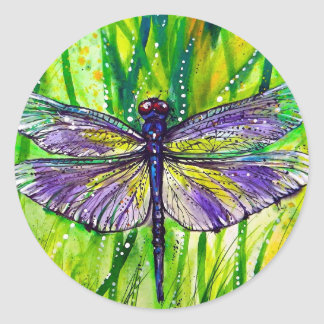 Dragonfly Garden Stickers