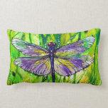 Dragonfly Garden Throw Pillows