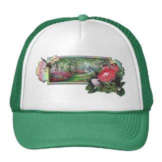 Dragonfly Garden Trucker Hat