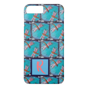 Red Dragonfly iPhone 8 Plus/7 Plus Cases | Zazzle