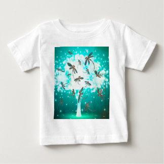Dragonfly Glow Tree Shirt