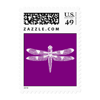 Dragonfly Graphic Postage Stamps
