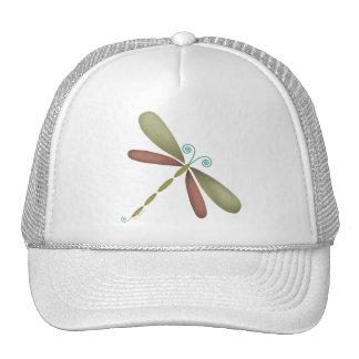 Dragonfly - green/brown trucker hats