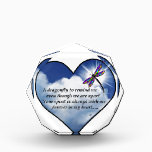 """Dragonfly Heart Poem Award<br><div class=""""desc"""">Losing a loved one is never easy.. I BELIEVE that our loved ones will send us signs to let us know they are still with us in spirit. &quot;Always In Our Heart&quot; gift store offers a beautiful line of sympathy gifts and memorial keepsakes to keep their memory alive... ... .....</div>"""