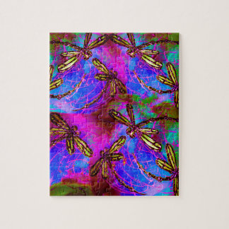 Dragonfly Hippy Flit Puzzle