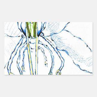 Dragonfly I Fly Rectangular Sticker