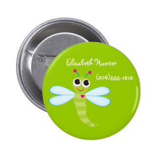 Dragonfly Identification Button