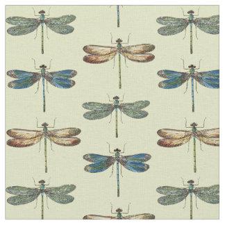 Dragonfly Illustrations Fabric
