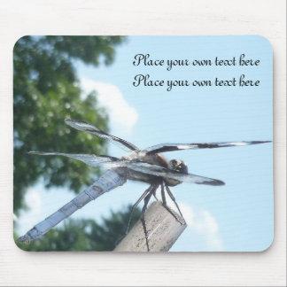 Dragonfly imagination mousepad customize