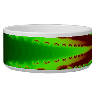 Dragonfly in Flames Dog Bowl