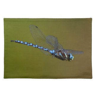 dragonfly in flight cloth placemat