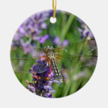 Dragonfly in Lavender Garden Ornaments