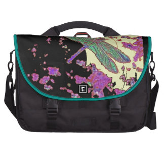 Dragonfly in Moonlight Design by Sharles Bag For Laptop