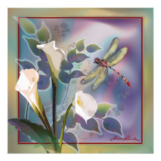 Dragonfly in Motion Photo Print